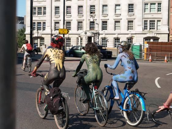 London Naked Bike Ride