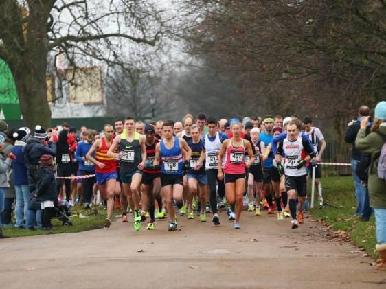 10k run at Hyde Park