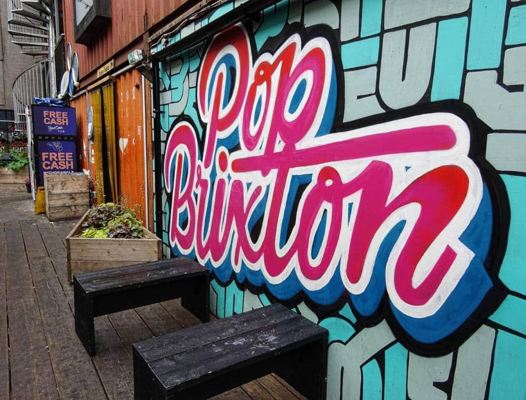 Pop Brixton mural