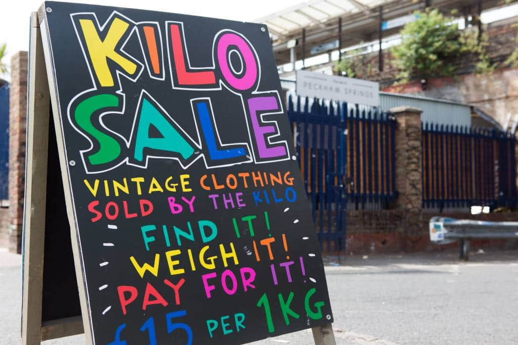 Peckham Springs London kilo sales